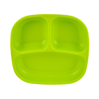 Green Re-Play Divided Plate