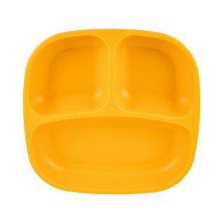Sunny Yellow Re-Play Divided Plate