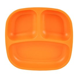 Re-Play Orange Re-Play Divided Plate