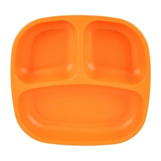 Orange Re-Play Divided Plate