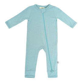 Kyte Baby Seafoam Zippered Romper
