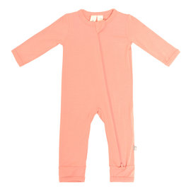 Kyte Baby Terracotta Bamboo Zippered Romper
