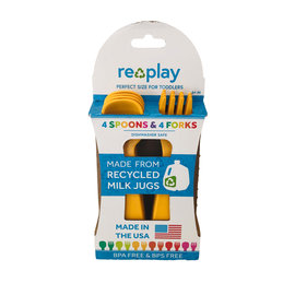 Re-Play Sunny Re-Play Utensils, 8 pk