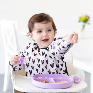 Lavender Silicone Grip Dish