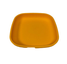 """Sunny Yellow Re-Play 7"""" Flat Plate"""