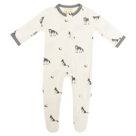 Kyte Baby Howl Zippered Footie
