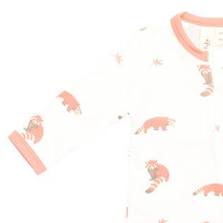 Kyte Baby Red Panda Zippered Footie