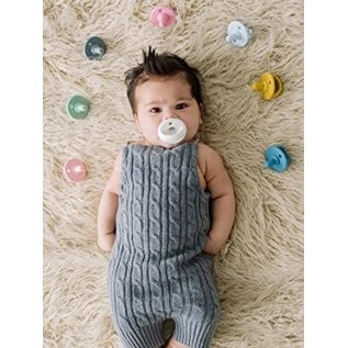 Itzy Ritzy Navy/Robin's Egg Pacifier 2-Pack