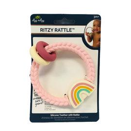 Itzy Ritzy Rainbow Pink Ritzy Rattle