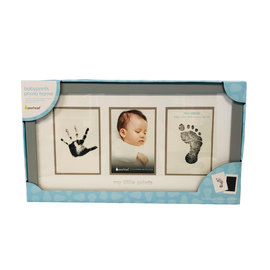 Pearhead Grey Babyprints Photo Frame