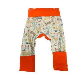 Jberg Construction/Orange Grow-With-Me Pants