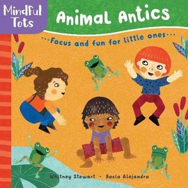 Animal Antics Board Book, Mindful Tots