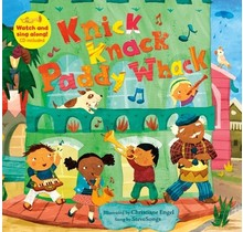 Knick Knack Paddy Whack Paperback Book with CD