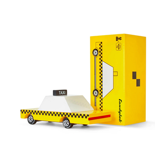 Candylab Yellow Taxi Candycar
