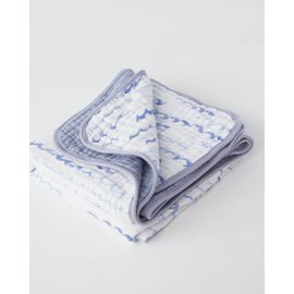 Little Unicorn High Tide Cotton Muslin Quilt