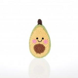 Friendly Avocado Rattle, Pebble