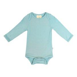 Kyte Baby Seafoam Long Sleeve Bamboo Bodysuit