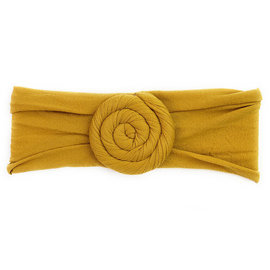 Mustard Turban Roll Headband