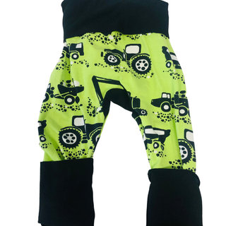 Construction/Black Grow-With-Me Pants