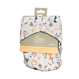 La Petite Ourse All-In-One Cloth Diaper, Enchanted Forest