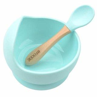 Seafoam G & S Bowl + Spoon Set