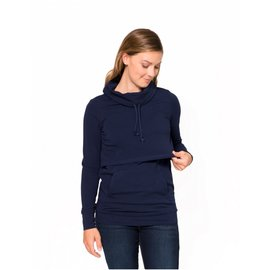 Momzelle Nursing Top SOPHIE, Deep Sea Blue