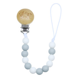 Glitter & Spice Greyson G & S Pacifier Clip