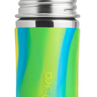 Aqua Swirl Pura 325ml Straw Bottle