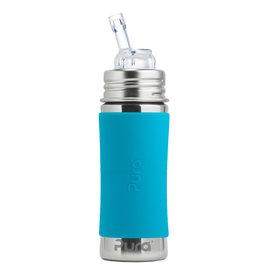 Pura Kiki Aqua Pura 325ml Straw Bottle
