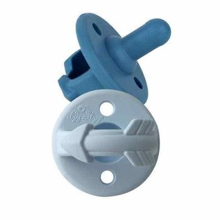 Itzy Ritzy Blue Arrows Sweetie Soother Pacifier Set