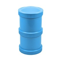 Sky Blue Snack Stack (2 pod base + 1 lid), Re-Play