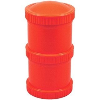 Red Snack Stack (2 pod base + 1 lid), Re-Play