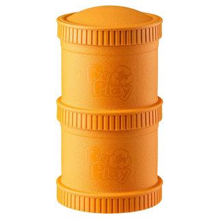 Orange Snack Stack (2 pod base + 1 lid), Re-Play