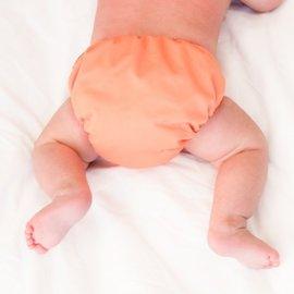La Petite Ourse One-Size Snap Pocket Diaper, Orange