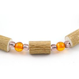 Hazelwood & Amber Baby Teething Necklace