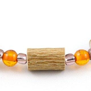 Hazelwood & Amber Baby Teething Necklace