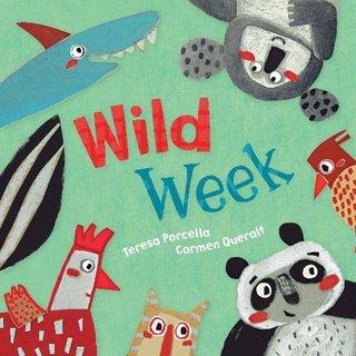 Wild Week, Board Book