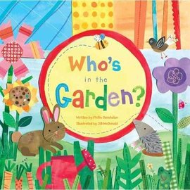 Who's In The Garden? Large Board Book