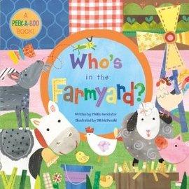 Who's In The Farmyard? Large Board Book