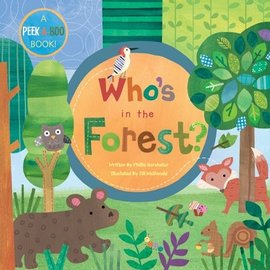 Who's In The Forest? Large Board Book