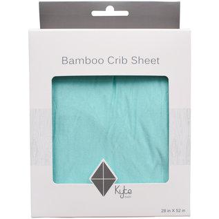Kyte Baby Seafoam Bamboo Crib Sheet