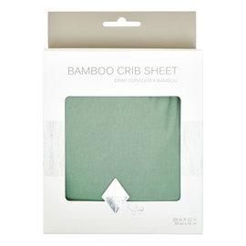 Kyte Baby Matcha Bamboo Crib Sheet