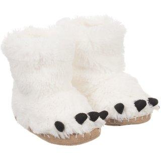 Polar Bear Paws Kids' Slippers