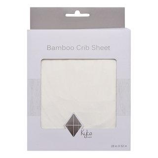 Cloud Bamboo Crib Sheet