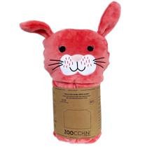Bunny Fleece Hooded Blanket