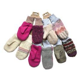 Nooks Wool Mittens, Feminine Colours, 2-4 years