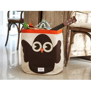 3 Sprouts Toy Bin, Woodland Owl