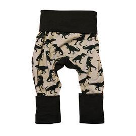 Jberg Black/Grey T-Rex Grow Pants