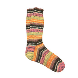 JEC Hand Knit Ladies Merino Wool Socks, Sunrise