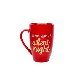 Pearhead All Mom Wants is a Silent Night Mug